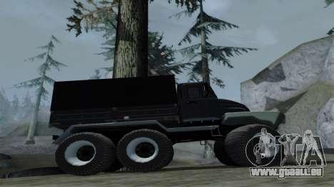 ZIL Kerzhak 6x6 pour GTA San Andreas vue arrière