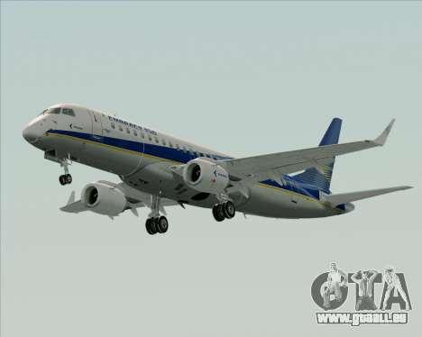 Embraer E-190-200LR House Livery für GTA San Andreas Seitenansicht