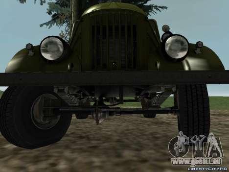 GAZ-69 für GTA San Andreas zurück linke Ansicht