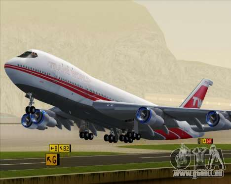 Boeing 747-100 Trans World Airlines (TWA) für GTA San Andreas