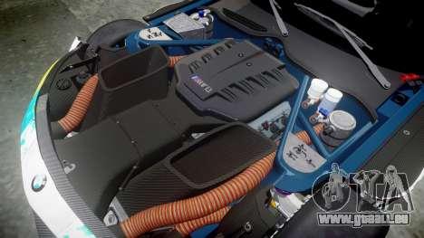BMW Z4 GT3 2014 Goodsmile Racing pour GTA 4 vue de dessus