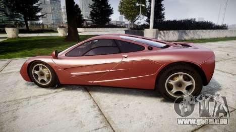 Mclaren F1 1993 [EPM] für GTA 4 linke Ansicht