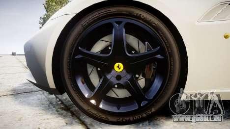 Ferrari California [EPM] v1.5 pour GTA 4 Vue arrière