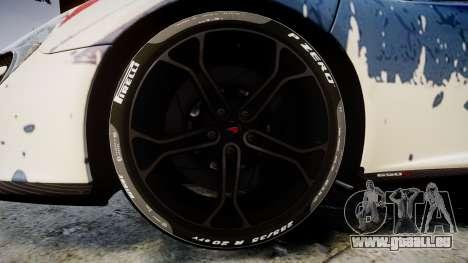 McLaren 650S Spider 2014 [EPM] v2.0 UK für GTA 4 Rückansicht