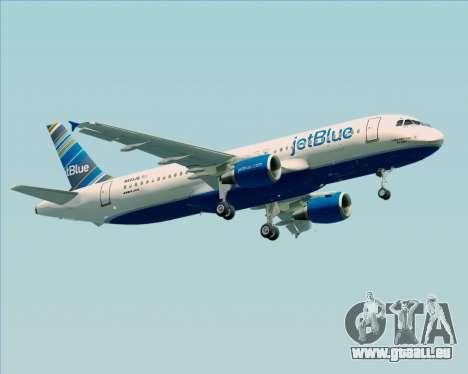 Airbus A320-200 JetBlue Airways pour GTA San Andreas vue de droite