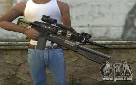 M4 MGS Aimpoint v3 für GTA San Andreas dritten Screenshot
