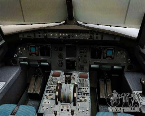 Airbus A320-200 Air Asia Philippines für GTA San Andreas Innen