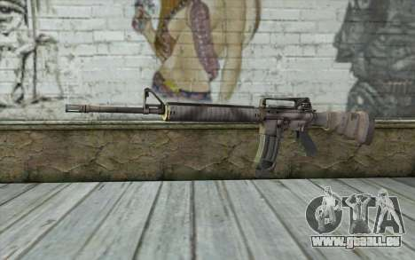 M16A4 from Battlefield 3 pour GTA San Andreas