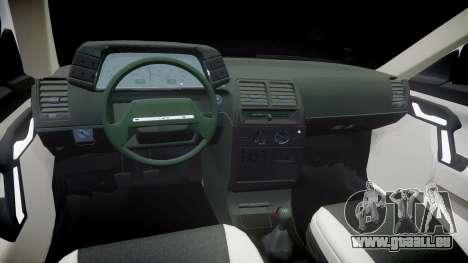 AIDE-2112 hobo pour GTA 4 est une vue de l'intérieur