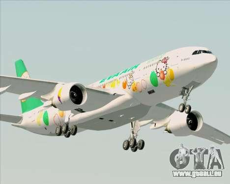 Airbus A330-200 EVA Air (Hello Kitty) pour GTA San Andreas vue de côté
