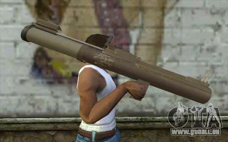 Heatseek New pour GTA San Andreas troisième écran