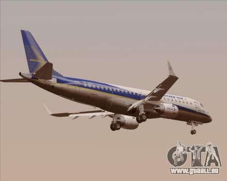 Embraer E-190-200LR House Livery pour GTA San Andreas vue arrière
