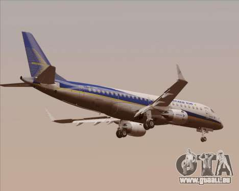 Embraer E-190-200LR House Livery für GTA San Andreas Rückansicht
