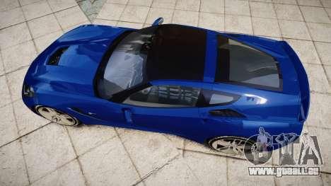 Chevrolet Corvette C7 Stingray 2014 v2.0 TireYA3 pour GTA 4 est un droit