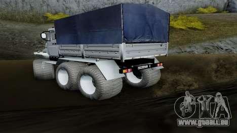 ZIL Kerzhak 6x6 pour GTA San Andreas laissé vue