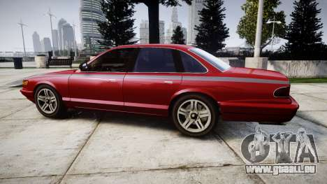 Vapid Stanier Rims Minivan für GTA 4 linke Ansicht
