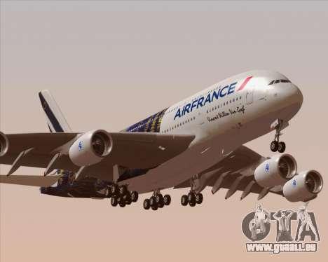 Airbus A380-800 Air France für GTA San Andreas Motor