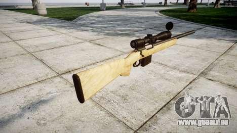Fusil de tireur d'élite avec des textures HQ pour GTA 4 secondes d'écran
