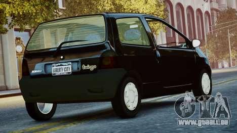 Renault Twingo I.1 pour GTA 4 est une gauche