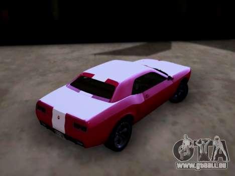 Bravado Gauntlet GTA 5 pour GTA San Andreas laissé vue