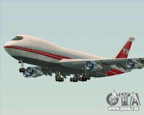 Boeing 747-100 Trans World Airlines (TWA) pour GTA San Andreas vue de côté