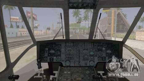 Helicopter Nuri Malaysia Mod (Seaking) für GTA San Andreas rechten Ansicht