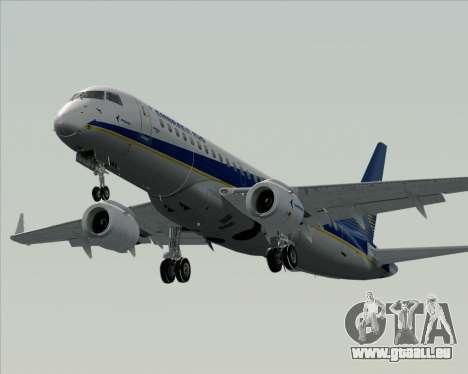 Embraer E-190-200LR House Livery pour GTA San Andreas vue de dessous