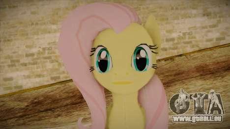 Fluttershy from My Little Pony für GTA San Andreas dritten Screenshot