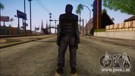 SAS from Counter Strike Condition Zero pour GTA San Andreas deuxième écran