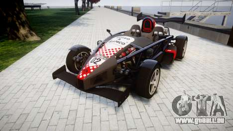 Ariel Atom V8 2010 [RIV] v1.1 Rosso & Bianco für GTA 4