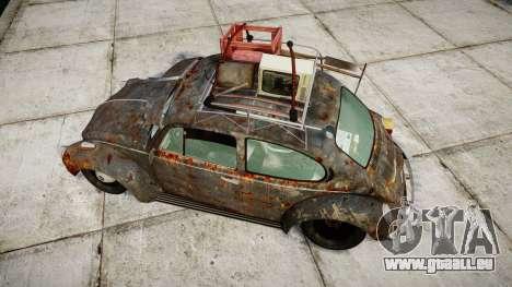 Volkswagen Beetle rust für GTA 4 rechte Ansicht