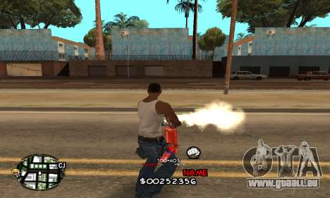 C-HUD by Jackson pour GTA San Andreas troisième écran