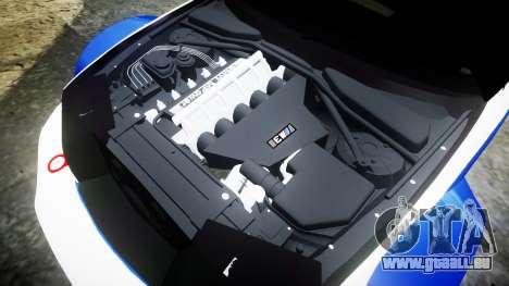 BMW M3 E46 GTR Most Wanted plate NFS Pro Street pour GTA 4 est un côté