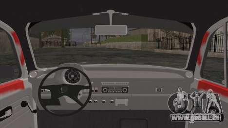 Volkswagen Beetle Bosnia Stance Nation pour GTA San Andreas sur la vue arrière gauche