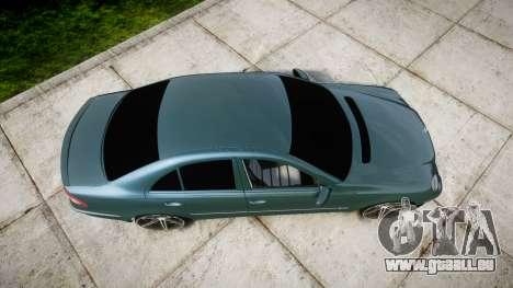 Mercedes-Benz W211 E55 AMG Vossen VVS CV5 für GTA 4 rechte Ansicht