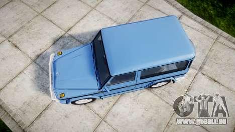 Mercedes-Benz G500 Short 1999 pour GTA 4 est un droit