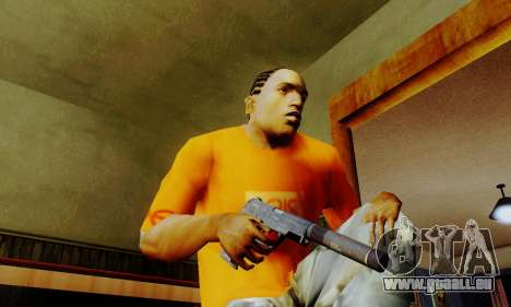 Weapon pack from CODMW2 pour GTA San Andreas