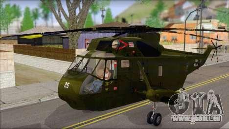 Helicopter Nuri Malaysia Mod (Seaking) für GTA San Andreas