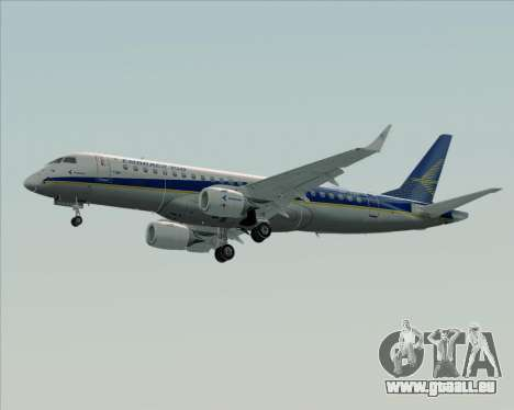 Embraer E-190-200LR House Livery pour GTA San Andreas sur la vue arrière gauche
