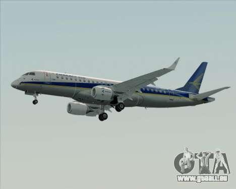 Embraer E-190-200LR House Livery für GTA San Andreas zurück linke Ansicht