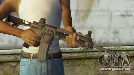 M4 from Battlefield 4 pour GTA San Andreas troisième écran
