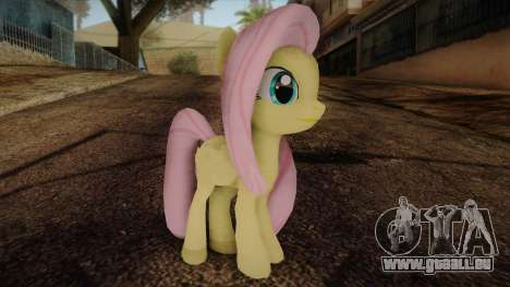 Fluttershy from My Little Pony pour GTA San Andreas