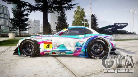 BMW Z4 GT3 2014 Goodsmile Racing für GTA 4 linke Ansicht
