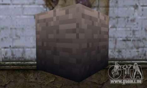 Block (Minecraft) v13 für GTA San Andreas zweiten Screenshot