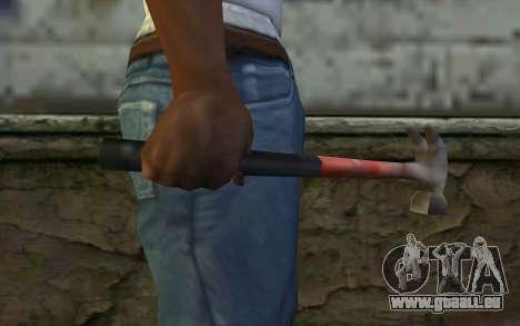 Marteau (GTA Vice City) pour GTA San Andreas troisième écran
