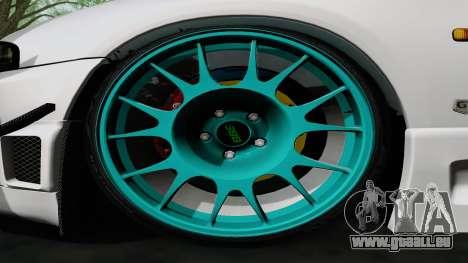 Nissan Skyline GT-R33 für GTA San Andreas Innenansicht