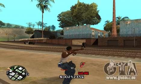 C-HUD by Jackson pour GTA San Andreas quatrième écran