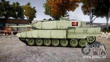 Leopard 2A7 DK Green für GTA 4 linke Ansicht