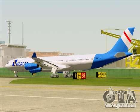 Airbus A340-300 Air Herler pour GTA San Andreas roue