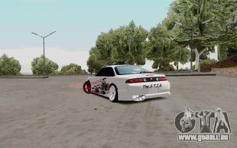 Nissan Silvia S14 VCDT pour GTA San Andreas vue de droite